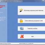 Opcija za automatsko ažuriranje programa