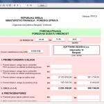 Izgled PPPDV prijave (automatsko popunjavanje)
